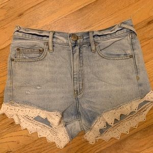 Mid Rise Free People Shorts